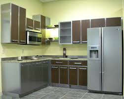 stainless steel kitchen cabinets new at contemporary fascinating