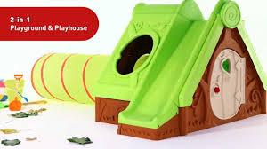 Keter Plastic Keter Funtivity Playhouse Youtube