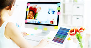 home office graphic design jobs freelance design work from home best cartoon woman sitting with