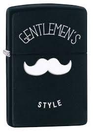 zippo design zippo gentleman s style black matte zippo 28663