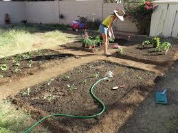 how to build a backyard garden part 2 dally u0027s vintage days