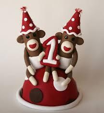 14 best cakes sock monkey images on pinterest sock monkeys