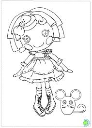 lalaloopsy coloring pages getcoloringpages