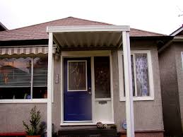 Window And Door Awnings Bedroom Awning Over Front Door Adorable Mobile Home Front Door