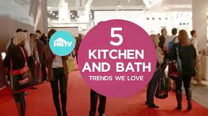 bath trends top 5 kitchen and bath trends from kbis 2016 video hgtv