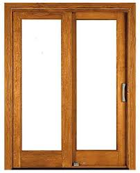 Patio Doors Wooden Sliding Patio Door Wooden Glazed Architect Series Within