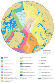 Northern Canada Map This Map Shows All The Claims On The Arctic Seafloor