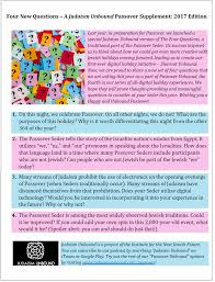 passover supplement four new questions u2014 judaism unbound