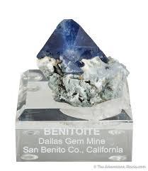 benitoite for sale pre tucson fine minerals