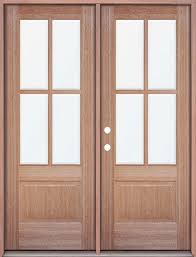 Patio Entry Doors Mahogany 4 Lite Doors Great For A Patio Entrance