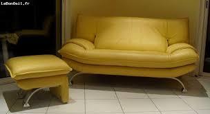 canape jaune cuir canape cuir jaune 28 images canap 233 3 places sani 3n2 en cuir