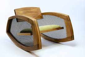 Modern Rocking Chair Cool Modern S Shaped Wooden Rocking Chair Design Ideas Featuring