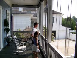 Screen Kits For Porch by Curtains Using Tremendous Mosquito Curtains For Comfy Porch Or