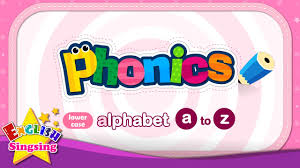 phonics alphabet letter a to z lower case small letter