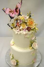 Butterfly Wedding Cakes Photo 11