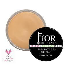 fior mineral cosmetics organic vegan cream concealer toxin