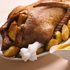 cuisine danoise recette oie rôtie à la danoise