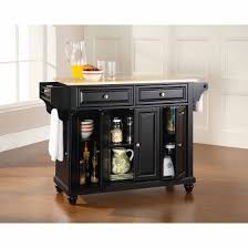 kitchen island wood top crosley furniture cambridge wood top kitchen island