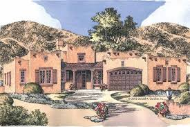 southwest style home plans home plan homepw07701 1883 square foot 3 bedroom 2 bathroom