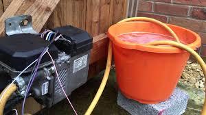 test webasto thermo top c z z c diesel petrol fuel burning