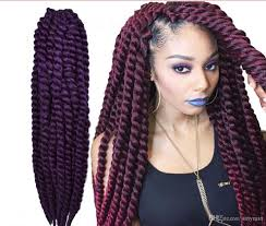 Curly Braiding Hair Extensions by Havana Mambo Twist Extra Full Volume Crochet Braid 12braids 12 To