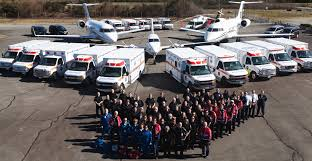 British Columbia Wildfire Service by Medical Transport Lifesupport Patient Transport
