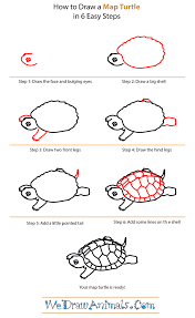 how to draw a map how to draw a map turtle