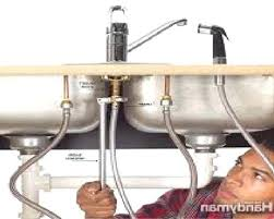 how to fix the kitchen faucet fix kitchen faucet handle sink leak repair moen replace