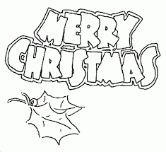 the amazing merry christmas coloring page with regard to inspire
