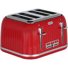 Breville 4 Slice Smart Toaster Breville Impressions Vtt783 4 Slice Toaster Red