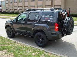 nissan xterra lifted ten surprising off road vehicles 8 nissan xterra on the go