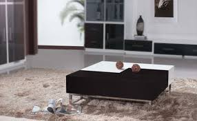 Black Gloss Glass Coffee Table Living Room Coffee Table Classic Brown Curtains The Decorate As