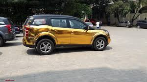 wrapped cars insane chrome and gold wrapped cars of india