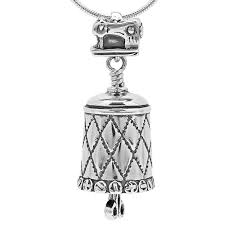 all sewn up bell pendant the bell collection