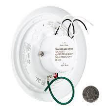 flush mount led can lights 5 1 2 flush mount led ceiling light 60 watt equivalent dimmable
