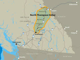 Wildfire Map Kamloops by Southern Yellowhead Hwy Bc Highway 5 North Thompson Valley