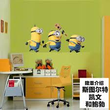 Prettybaby Cartoon Minions Wall Stickers For Kids Room Baby