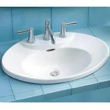 drop in bathroom sinks advance plumbing and heating supply