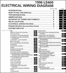lexus ls400 wiring diagram lexus wiring diagrams for diy car repairs