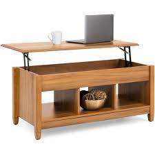 modern lift top coffee table w hidden storage golden oak u2013 best