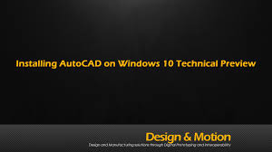 will autocad install on windows 10 youtube
