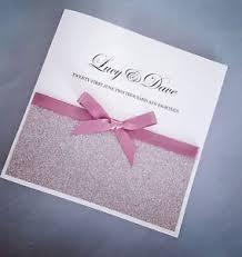 glitter wedding invitations personalised gold glitter wedding invitations any colour