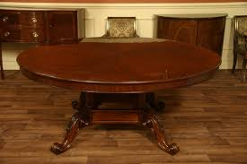 mahogany dining table mahogany double pedestal farmhouse dining