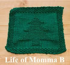 Free Knitting Pattern Christmas Tree Dishcloth | christmas tree dishcloth free pattern christmas tree and patterns