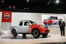 nissan frontier diesel engine nissan frontier diesel runner concept u201cwhy the hell not u201d the