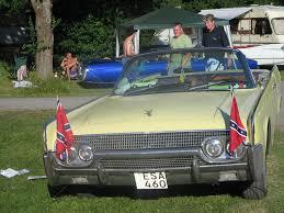 Car Window Flags File 60 U0027s Car With Confederate Flag At Power Big Meet 2005 Jpg