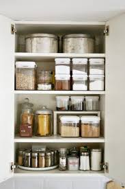 Organized Kitchen Cabinets Beautiful White Metal Organizing Kitchen Cabinet And And Counter