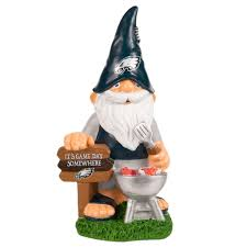 Garden Nome by Philadelphia Eagles Garden Gnome Barbecue Backorder Products