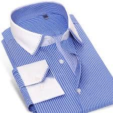 caiziyijia 2017 mens long sleeve wrinkle free dress shirt contrast