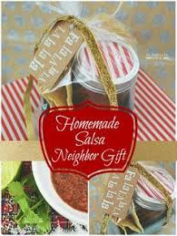 homemade salsa gift idea w free printable homemade salsa free